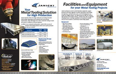 Metal Tooling Flyer