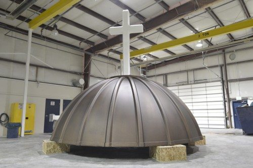 Immaculate Conception Catholic Church domes