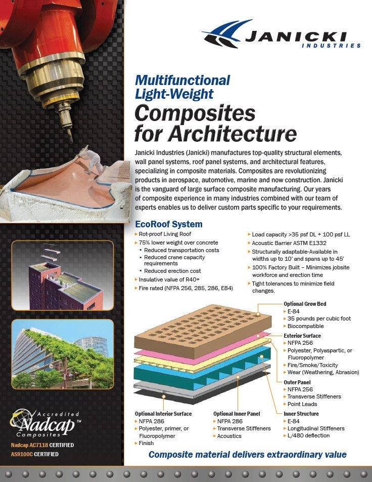 Composites for Architecture