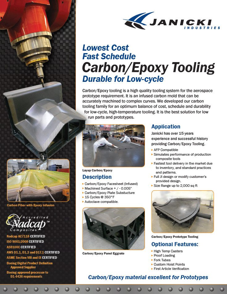 Carbon / Epoxy Tooling