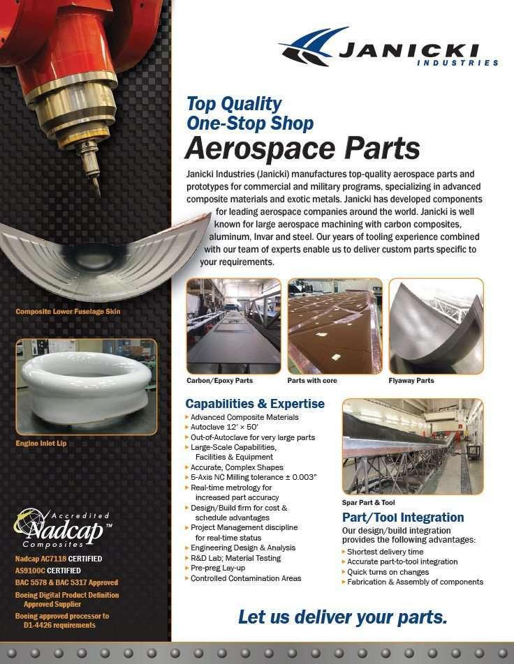 Aerospace Parts Flyer