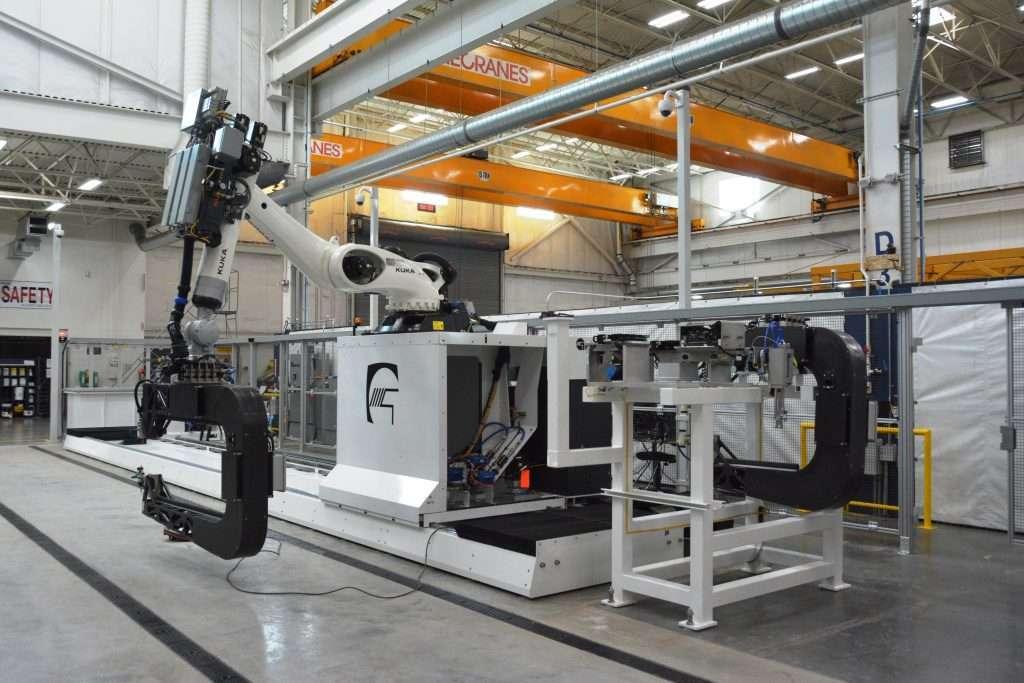 Genesis Non-destructive Testing (NDT) 115 Equipment Robotic Inspection Workcell