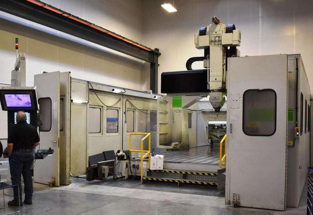 Zimmermann 5-Axis CNC Mill